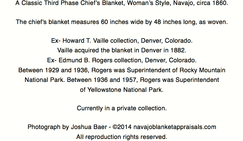 womans third phase chiefs blanket